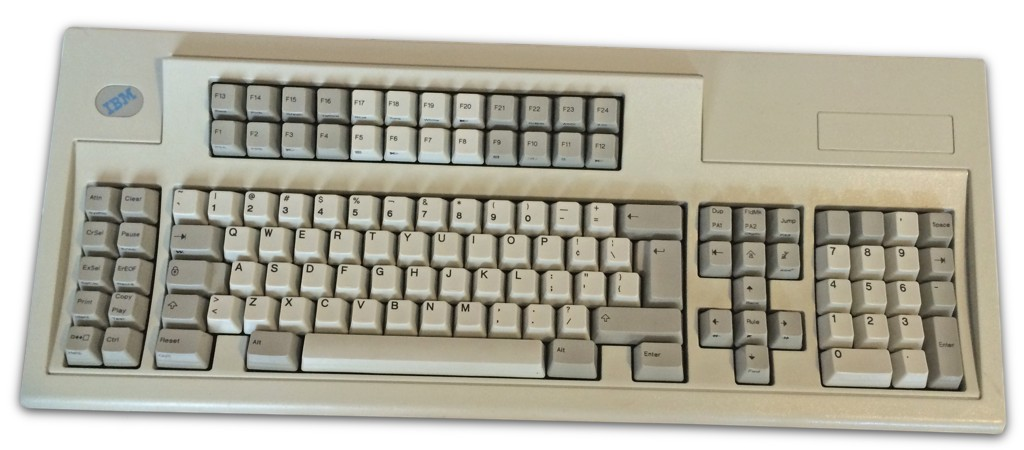 The Mighty IBM Model M 122 Key Keyboard. [Ideas And Hacks]
